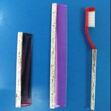 silver brush and Comb RH-BC222