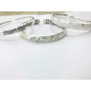 999 sterling silver dull finishing bracelet ms-2807