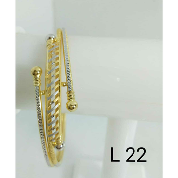 22kt Gold Ladies Fancy Copper Bracelet (Gabha Kadli)