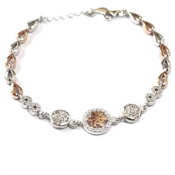 925 Sterling Silver Fancy Bracelet MGA - BRS0423