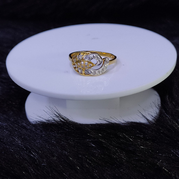 22KT/916 Yellow Gold Alka Ring For Women
