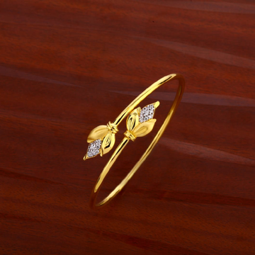 18KT Gold LADIES Kada Bracelet LKB184
