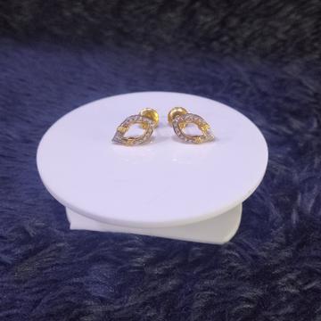 22KT/916 Yellow Gold Mombasa Earrings For Women