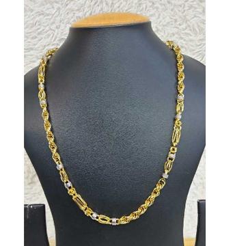 22k Gents Fancy Gold Chain G-8510