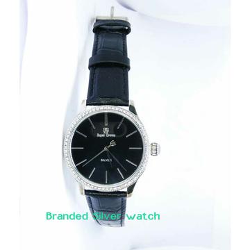 Fancy 925 Silver Gents Watch