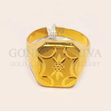 22kt gold ring ggr-h70