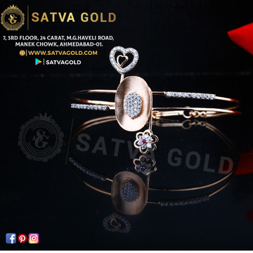76 ROSE GOLD KADA SGK-0004
