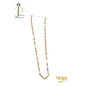 22KT / 916 Gold Casual Ware Chain For Ladies CHG0165