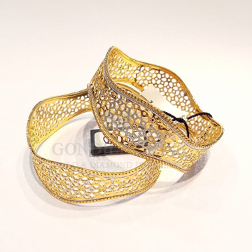 20kt gold bangle gbg55