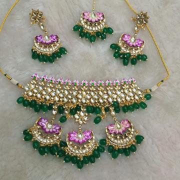 bridal necklace set#323