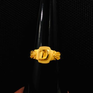 22KT Gold Designer Gents Ring KDJ-R018
