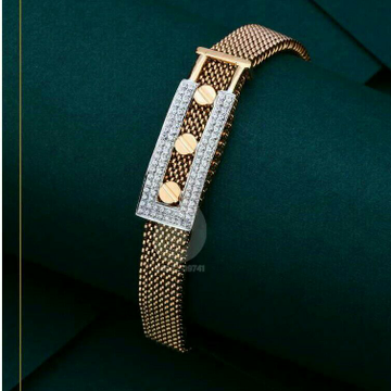 Rose gold gents kada