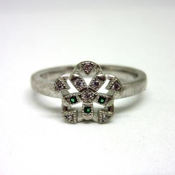 Silver 925 flower shape ring sr925-127