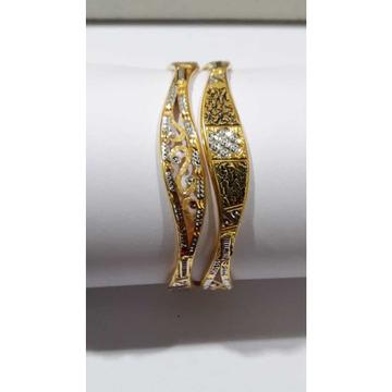 916 Yellow Gold Modern Design Copper Kadli