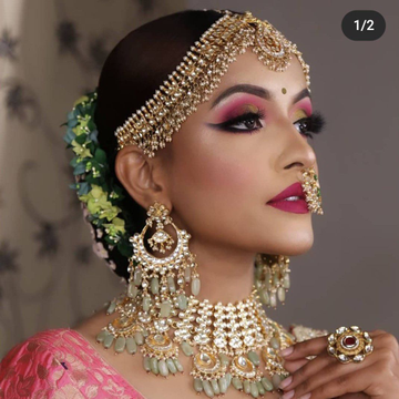 Pachhi Kundan Bridal Set 1750