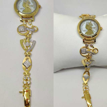 18k Ladies Fancy Indian Watch G-2229