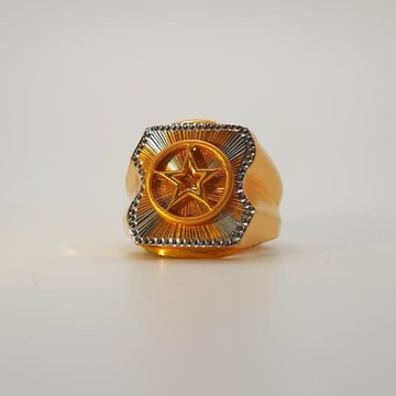 22 ct gold star ring specially jence by
