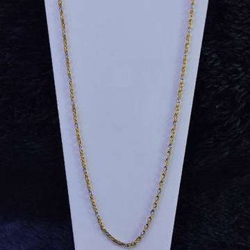 22KT/916 Yellow Gold Aanvi Chain For Women