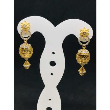22k Ladies Fancy Gold Earring Er-60012