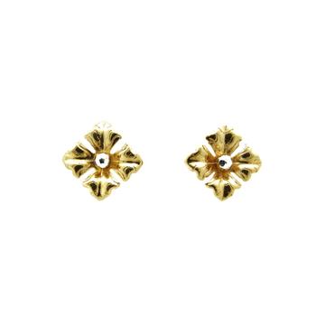 22K Gold Lite Flower Tops by