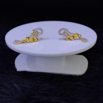 22KT/916 Yellow Gold Helix Earrings For Women