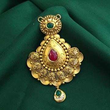 22KT Gold Antique Pendant by