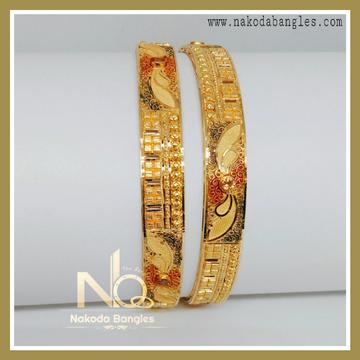 916 Gold Calcutty Bangles NB-238