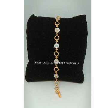 916 Gold Fancy Ladies Diamond Bracelet