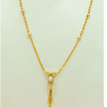 22 carat gold ladies latkan dokiya chain RH-DC716