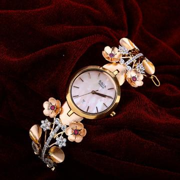 Rose Gold Ladies Watch-RLW35