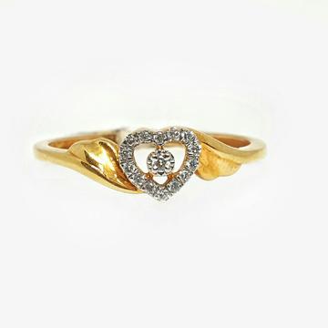 18K Gold Real Diamond Ring MGA - RDR0014