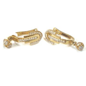 18K Gold Earrings MGA - GB005