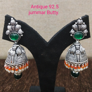925 silver oxidised jummar earring sl-e001