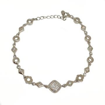 925 Sterling Silver Designer Bracelet MGA - BRS1756