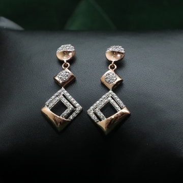 Rose Gold Fancy Earring ER0024