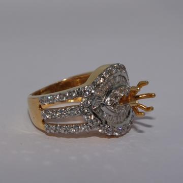 18K gold diamond Ring agj-Lr-42