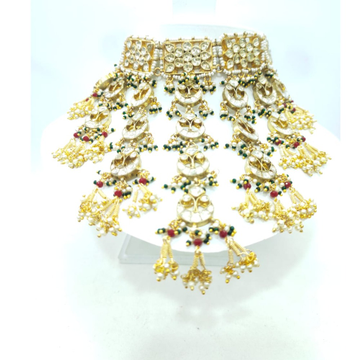 Bridal special with choker kundan necklace set 1606