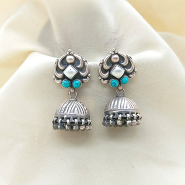 Puran elements sterling silver turqoise pearly jhu...