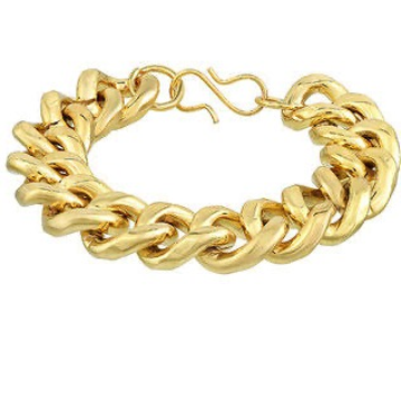 22kt heavy and strong Yellow Gold Bracelet For Men JKB067