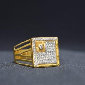 916 Gold Designer Ring For Men MK-R24 by