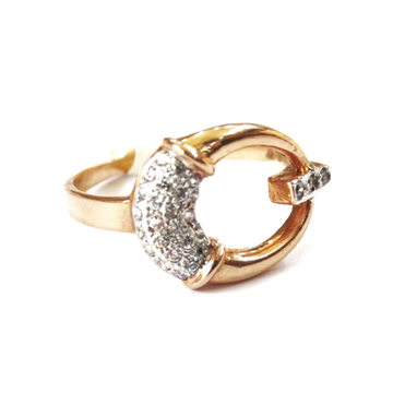 18k rose gold fancy ring mga - rgr0045