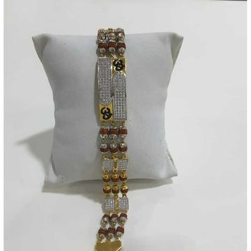 916 Gents Fancy Gold Om Bracelet G-10162