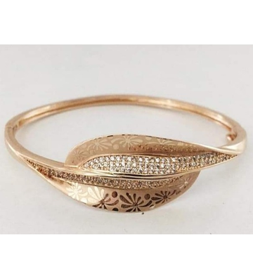 18 carat rose gold women kada