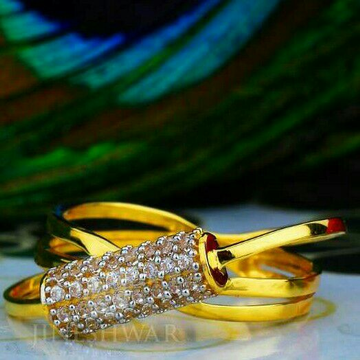 Cz Fancy Ladies Ring LRG -0046