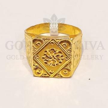 22kt gold ring ggr-h79