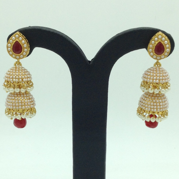 Pearls Ear Double Jhumki JER0068