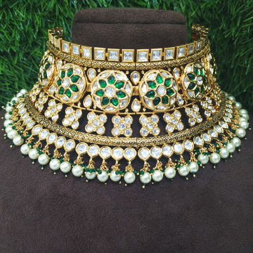 Kundan necklace set 1753