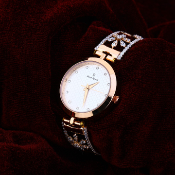 18CT CZ  Rose Gold Ladies Watch RLW176