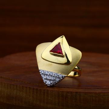 916 Gold antique Ring With Hallmark LAR43