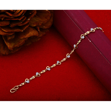 18KT Rose gold Delicate Bracelet Design For Women RHJ-1209